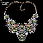 Dvacaman Brand 2017 Colorful Crystal Wedding <b>Jewelry</b> Women Indian Bride Maxi Statement Necklace Collar <b>Accessory</b> Femme Bijoux H3