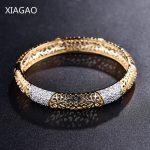 XIAGAO Fashion Gold Color Cuff Bracelets & Bangles for Women <b>Jewelry</b> Female Charm Hollow Bracelet Pulseiras Bijoux <b>Accessories</b>