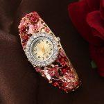 Sloggi Brand New Vintage Watch Women 3D Butterfly Flower bracelet Watch Lady Palace <b>Jewelry</b> Quartz Watch reloj pulsera mujer
