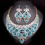 Fashion Bridal <b>Jewelry</b> Sets Wedding Engagement Necklace Earring for Bride Party Costume <b>Accessories</b> Indian Jewellery Sets Women