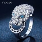 Hot Popular Silver Leopard Rings for Women Fashion Animal Rings Party Punk <b>Jewelry</b> <b>Accessories</b> Anel Bijoux Perfect Gifts AR045