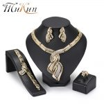 MuKun 2018 Dubai Gold <b>Jewelry</b> Sets For Women Turkish yellow Color Indian <b>Jewelry</b> Sets Costume <b>Jewelry</b> Fashion Women <b>Accessories</b>