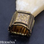 Vintage <b>Antique</b> Style Unique Rose Gold New Sale Adjustable Ring Women Men <b>Jewelry</b> NY957 Free Shipping