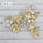 3pcs/set <b>Art</b> <b>Deco</b> Hair Comb Crystal Wedding Comb for Bride Hair Accessories gold Hair Combs Wedding <b>Jewelry</b> Bridal Accessory