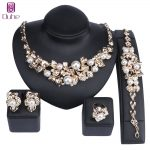 Fashion African <b>Jewelry</b> Sets Dubai Gold Color Pearl Crystal <b>Jewelry</b> Sets Wholesale Bridal <b>Accessories</b> Nigerian Wedding <b>Jewelry</b>