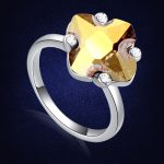 Top Quality Wedding Rings For Women Crystals From Swarovski <b>Jewelry</b> Bague Bijoux Femme Engagement Anillos Anel Ring <b>Accessories</b>