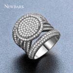 NEWBARK New Arrival Exquisite Unique <b>Jewelry</b> Ring Victoria <b>Antique</b> High Quality Silver Color Sun Round Design Ring for Lady