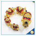 <b>Antique</b> 5pcs/set Thailand elephant decor statues metal <b>jewelry</b> box for souvenir SCJ069