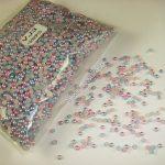 Nail 3MM Light Blue-Pink Color Half Round Flatback Imitation Pearls 10000PCS for Nail <b>Art</b> Phone <b>Deco</b> <b>Jewelry</b> DIY ABS Gem Beads