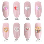 10pcs elegant nail designs hearts glitters <b>deco</b> ongle nail <b>art</b> Valentine's decoration <b>jewelry</b> for nail beauty Y764~771