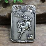 Do the old <b>antique</b> collection exquisite <b>jewelry</b> paktong double hand carved immediately Fenghou brand Pendant