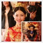 Luxury Chinese Wedding Brides Hair <b>Jewelry</b> <b>Accessories</b> Princess Queen Flower Crown Hairpins Headdress Bridal Hair Sticks