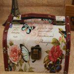 zakka <b>antique</b> Vintage big wooden box storage box candy box <b>Jewelry</b> Box ,dressing case, Butterfly style 18*15*11cm Free shipping