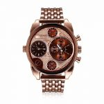 Korean Casual Style <b>Jewelry</b> Three movement quartz Business Wristwatch for men <b>Jewelry</b> Set