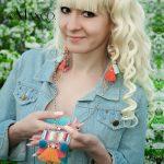 eManco Trendy Ethnic Bohemia Mix Color Tassel <b>Jewelry</b> Sets for Women Crystal Beads Alloy Chain Pendants Earrings <b>Accessories</b>