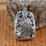 S925 silver <b>jewelry</b> wholesale Silver <b>Antique</b> Style Mens personality large stereo Mammon Pendant