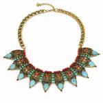 Woman <b>Jewelry</b> Bohemian Short Choker Necklace Alloy <b>Antique</b> Pendant Necklace