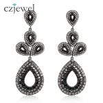<b>Antique</b> <b>Jewelry</b> 2017 New Fashion Party Dresses Vintage Style Crystals Statement Drop Earrings Vintage <b>Jewelry</b> for Women