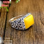 100% Sterling Silver 925 <b>Jewelry</b> 12*16mm Adjustable Ring Blank Tray Setting Square Stone <b>Antique</b> Silver Classical