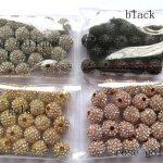 100pcs 6-14mm micro pave bling disco ball round spacer bead Round Hematite Gunmetal <b>Antique</b> Silver Gold gunmetal Finding