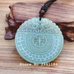 (Certificate) Natural Hetian Nephrite Stone Hand Carved <b>Antique</b> Pendant Necklace Gift for Women Men's <b>Jewelry</b> Free Rope