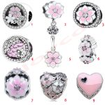 <b>Antique</b> 925 Sterling Silver Star/Flower/Heart Safety Chain Charms fit Women DIY Orginal Bracelets <b>Jewelry</b> Accessories
