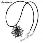 Samyeung 10Pcs Lot Assassins Creed Necklaces for Man <b>Jewelry</b> Stainless Steel Star Necklace Male Neckless Colar Creed <b>Accessories</b>