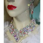 Gorgeous Bridal <b>Jewelry</b> Sets AB color marquise Crystal Necklace Earring Women Brides Party earrings sets <b>Jewelry</b> <b>Accessories</b>