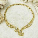 Dubai Charm Womae Gold <b>Jewelry</b> Fine Desigh Necklace Bracelet Earrings Ring Crystal <b>Jewelry</b> Set Classic Bride Wedding <b>Accessories</b>