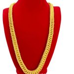 Hip Hop Mens Necklace Dragon Chain Gold Filled Male Solid Necklace 23 Inches Rock Style <b>Accessories</b> <b>Jewelry</b>