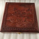 Collection of <b>antique</b> mahogany <b>jewelry</b> storage box square red gem jade buckle <b>antique</b> <b>jewelry</b> box gifts to share