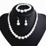Classic Shambhala Crystal Simulated Pearl Bridal <b>Jewelry</b> Sets Woman Wedding Necklace Earrings Bracelet Sets Bijoux <b>Accessories</b>