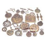 The new combination of set clocks and clocks pointer retro DIY handmade alloy <b>jewelry</b> accessories Fuk bag 20