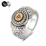 UNY <b>Jewelry</b> Ring Vintage <b>Antique</b> Rings Designer Fashion Brand Hardy Womens CZ Rings Femme Wedding Christmas Valentine Gifts Ring