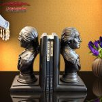 2016 Special Offer Home Furnishing Gift <b>Jewelry</b> Ornaments Resin Desk Washington Head Bookend Factory Direct Wholesale