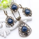 Vintage Unique Turkish Resin Earring <b>Jewelry</b> Women <b>Antique</b> Gold Color Hollow Floral Fire Design Earrings For Lovers Appointment