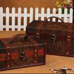 zakka <b>antique</b> big wooden storage box candy box <b>Jewelry</b> box Cosmetics case Vintage style box