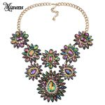 Miwens 2017 <b>Antique</b> maxi Necklace Fashion Charm Crystal <b>Jewelry</b> For Women Sweater Necklace Accessories NL421