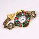 XQ004 <b>Antique</b> Quartz Wristwatch Women's Bracelet Watches Top Brand Luxury Lady Dress Watches Vintage Crystal <b>Jewelry</b> Reloj Mujer