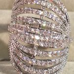 Fashion Multilayer Lines Ring Zirconium <b>Jewelry</b> db7486 Women <b>Accessories</b> Rings