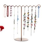 Retro <b>Jewelry</b> Display Stand holder <b>Antique</b> Craft Accessories Bracelet Earring Necklace Display Stand Show