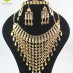 2017 New Design Dubai Gold Color Fashion Wedding Bridal <b>Accessories</b> Costume Necklace Set African Costume <b>Jewelry</b> Sets