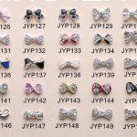 Nail <b>Art</b> Tips Stickers <b>Deco</b> Bow Knot Alloy <b>Jewelry</b> Multicolor Glitter Rhinestone nail gel jk17