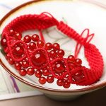 High Quality String knitted red <b>jewelry</b> Red Womens Bracelet Knitted Red String Bracelets Female <b>Accessories</b>