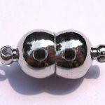 High Quality 50pcs 6x10mm BRASS Magic Clasp Connectors brass Magnetic Clasps round bar drum gunmetal <b>antique</b> silver <b>jewelry</b> clas