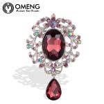 OMENG Fashion <b>Jewelry</b> Long Vintage Silver Brooch Pins <b>Antique</b> Pretty Beauty Cameo Brooches For Women Christmas Gift OXZ020