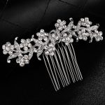 Stunning Small <b>Art</b> <b>Deco</b> Rhinestones Crystal Leaf Wedding Hair comb Bridal Headpieces Hair accessories Bridesmaids Women <b>Jewelry</b>