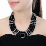 Vintage Style Statement Big Crystal Pendant Women Neckalces <b>Antique</b> Chain Choker Necklace For Women Fashion <b>Jewelry</b>
