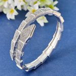 Luxury brand snake Cubic Zircon Bangles For Women Party Anniversary <b>Jewelry</b> Woman Gold Bracelet Women's Bangles <b>Accessory</b>