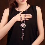 Natural Stone Party <b>Accessories</b> Handmade Jewelery Gift Necklaces & Pendants Fashion Choker <b>Jewelry</b> For Women Chain Necklace